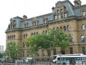 The Langevin Block, home to the Privy Council and prime minister's office
