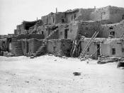 Oraibi village, circa 1899