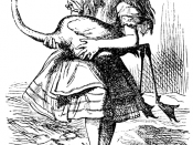 English: original illustration (1865) by John Tenniel (28 February 1820 - 25 February 1914), of the novel by Lewis Carroll, Alice's Adventures in Wonderland Español: Ilustración original (1865) por original John Tenniel (28 de febrero, 1820 - 25 de febrer
