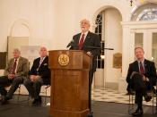 War of 1812 Exhibit Opening Ceremonies