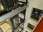 Cage d'escalier à Seine Innopolis