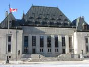 English: Supreme Court of Canada building, Ottawa, Ontario, Canada