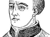 English: Portrait drawing of Archbishop of Canterbury Thomas Becket