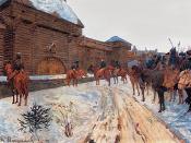 English: Vasily Maksimov (1844-1911). Mongols at the Walls of Vladimir.