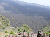 Valle del Bove on Mount Etna in Sicily