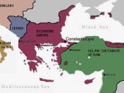 English: Byzantine empire before the Crusades Français : Empire byzantin à la veille des croisades