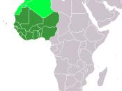 Western Africa (UN subregion) Maghreb, a separate region.