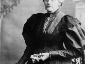 Susan B. Anthony spoke at every convention from 1852 onward, and served as president in 1858.