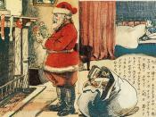 1914 Santa Claus in japan
