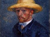 Portrait of Theo van Gogh.