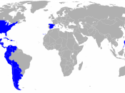 English: Countries where exist a spanish language academy. Español: Países donde existe una academia de la lengua española.