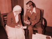 Mother Teresa and Dr. Johannes Maas