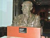English: Bust of Joseph Conrad