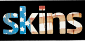 English: The logo of the US version of the Skins TV series
