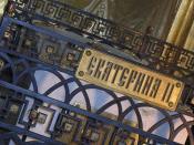Catherine the Great's tomb