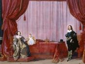 English: Charles I and Henrietta Maria with their son Charles, Prince of Wales. Italiano: Carlo I e Enrichetta Maria con il loro figlio Carlo, principe del Galles.