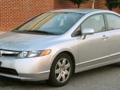 2006-2008 Honda Civic photographed in USA. Category:Honda Civic (2005, United States)