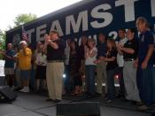 The Teamsters labor union gathering at YearlyKos 2007
