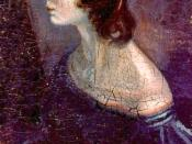 A portrait of Emily, painted by her brother Branwell.