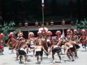 English: Taiwanese aborigines Русский: Аборигены Тайваня народ атаял (тайя) в традиционных костюмах. Культурный центр аборигенов Формозы. Тайвань, 2007.