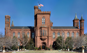 English: The Smithsonian Building in Washington D.C., United States. Edit of Wikipedia:Image:Smithsonian_Building.jpg to reduce luminance noise in the sky. 中文: 位于华盛顿特区的史密森尼古堡。