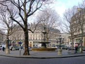 English: Andre Malraux place - Paris Français : Place André Malraux - Paris Ier