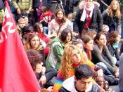 Sit-in 17 novembre 2008