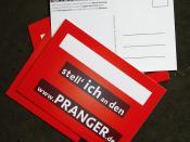[    ] stell' ich an den www.PRANGER.de