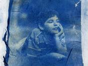 cyanotype emulsion lift