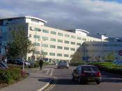 English: Great Western Hospital, Swindon. Taken by Rod Ward 26th Oct 2006