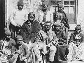 Tasmanian Aborigines at Oyster Cove