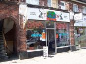 English: Tattoo Parlour Tattoo Parlour Victoria Road Ruislip Manor