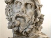 English: Odysseus. Group of Odysseus blinding Polyphemus. Marble, Greek work of the 2nd century BC.