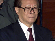 A cropped version of File:Vladimir Putin with Jiang Zemin-7.jpg of Jiang Zemin