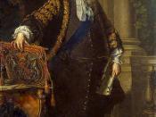 English: I have touched up the original painting of Robert Walpole, Portrait of Sir Robert Walpole, studio of Jean-Baptiste van Loo, 1740.