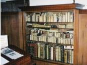 Study room of Spinoza