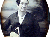 Ninth plate daguerreotype of Dorothea Lynde Dix.