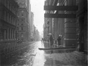 Pitt Street [Sydney] on rainy day, c.1933 / by Sam Hood