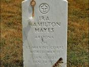 Ira Hayes, Arlington National Cemetery (Native-American Hero)