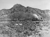 The First Transcontinental Railroad, whose western component was anchored in Sacramento