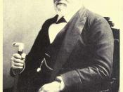 Portrait of Leland Stanford (1890) from Days of a Man the autobiography of David Starr Jordan 1922