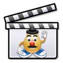 English: Combined :Image:Nuvola apps aktion.png and :Image:Crystal_Clear_app_katuberling.png (Mr. Potatohead) for use in film stubs.