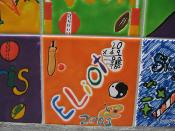 eliot's tile at paproa street school
