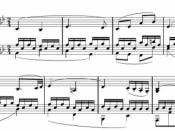 Deutsch: Second movement from Beethovens sonata nr. 8, op 13, bar 1 - 8
