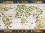 Mappemonde de Nicolas Desliens