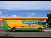 I saw this bus in the main street of Kaitaia (Northland New Zealand) I think the driver had stopped for munchies