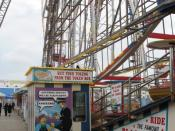 Big Wheel, Blackpool Central Pier - geograph.org.uk - 1519277