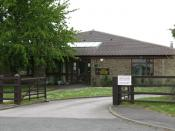 The Church of England primary school in Burneston