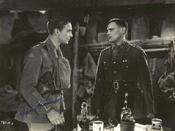 Main characters Colin Clive and Ian Maclaren in pivotal scene