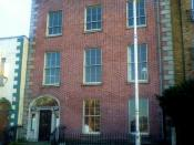 English: 15 Usher's Island, Dublin city. The real-life location of the fictional Morkan sisters' home in James Joyce's